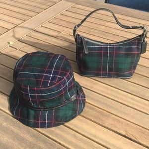 Coach Wool Mini Bag & Bucket Hat